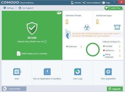 Comodo Cloud Antivirus