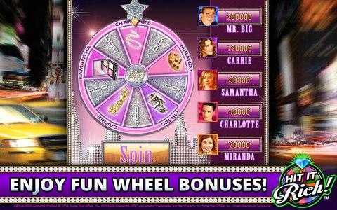 Hit it Rich! Free Casino Slots