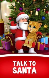 Talking Santa meets Ginger