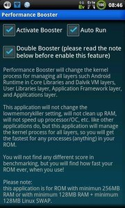 Performance Booster (root)