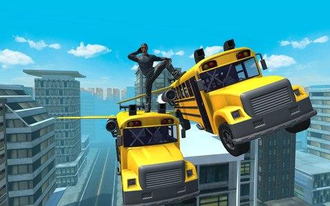 Flying Bus Simulator 2016