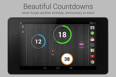 Countdown Widget for Events