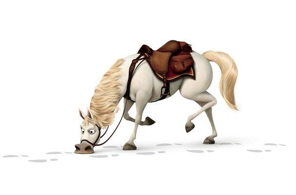 Rapunzel Horse Tangled