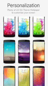 Lock Screen LG G3 Theme