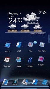 Next Launcher Theme Lightyear