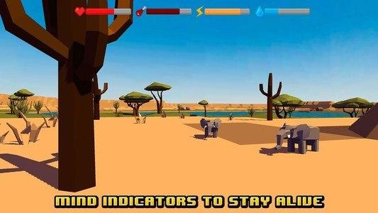 African Survival Simulator 3D