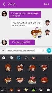 GO Keyboard Mocmoc Sticker