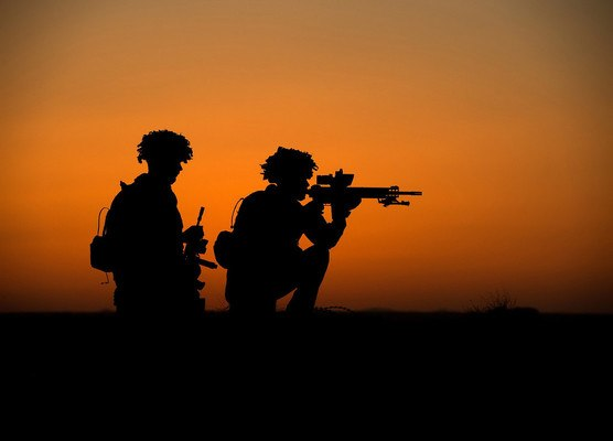 Military Silhouette Wallpaper Download Soldiers Silhouette