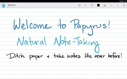 Papyrus - Natural Note Taking