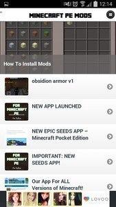 Mods - Minecraft PE