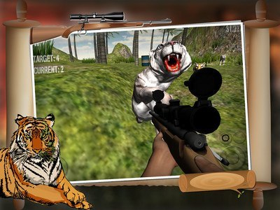African Tiger Shooter 3D