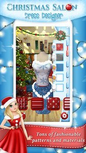 Christmas Salon Dress Designer