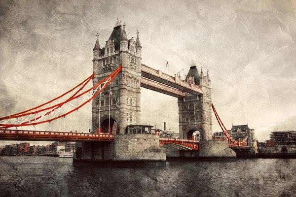 Vintage Tower Bridge