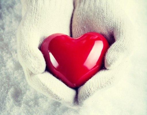 Holding Love Heart