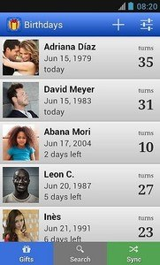 Birthdays for Android