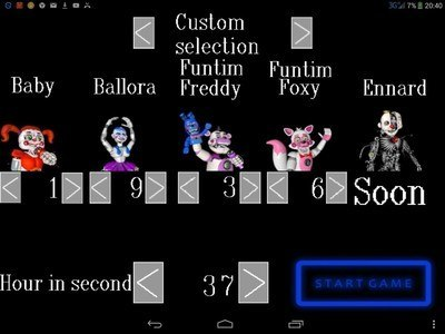 SL custom night fnaf parody