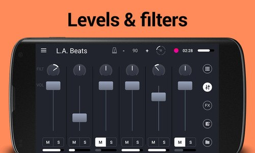 Remixlive - Play loops on pads
