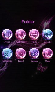 Feelings Go Launcher Theme