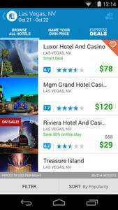 Priceline Hotels & Travel