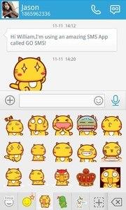 GO SMS HAMI ANIMATED STICKER