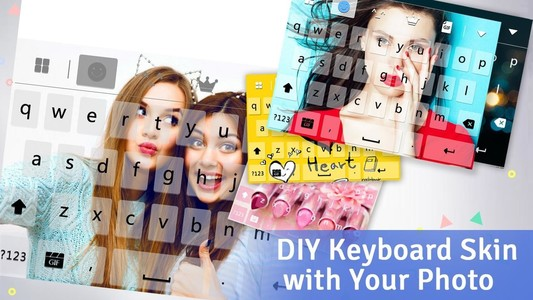 Keyboard -Boto:Colorful Galaxy
