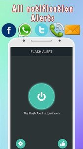 Color Flash Light Alert Calls