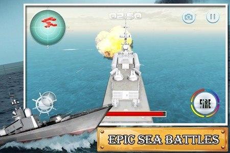 Naval Warfare Battleship Arena