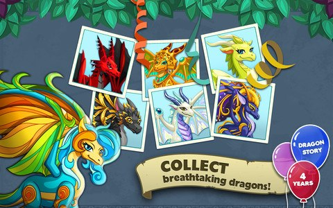 Dragon Story:Big Birthday Bash
