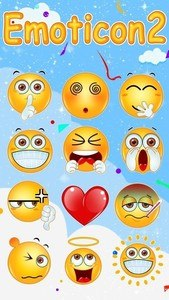 FREE-GO SMS EMOTICON 2 STICKER
