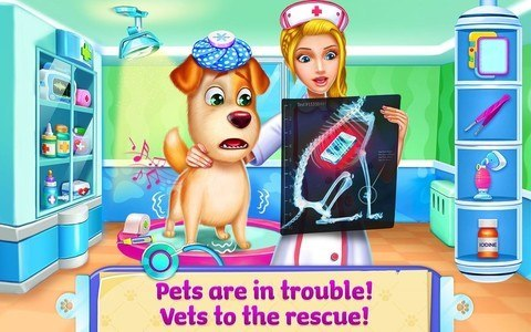 ER Pet Vet - Care for Animals