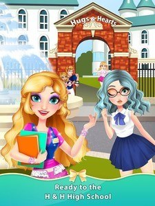 High School Uniform Dressup