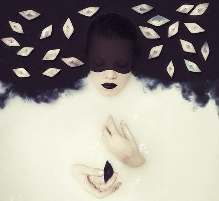 Creative Black And White Water