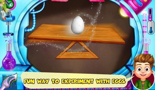 Science Experiments With Eggs