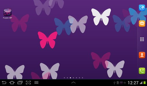Purple Live Wallpaper