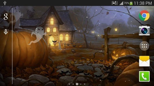 Halloween Live Wallpaper (PRO)