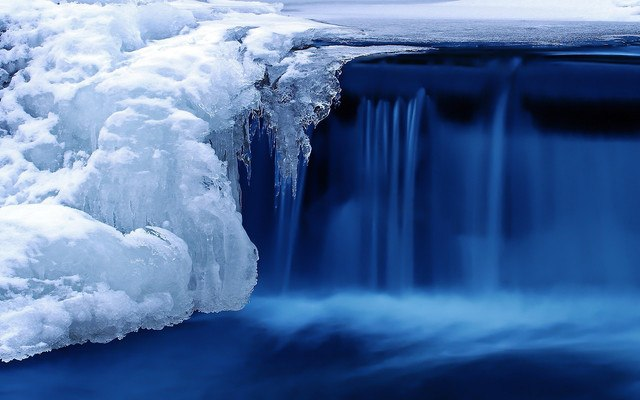 Freezing Waterfall