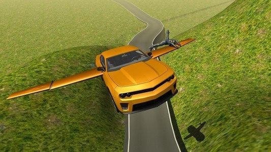 Flying Muscle Car Simulator 3D