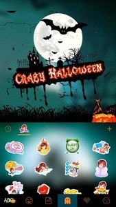 Halloween Animated Kika Theme