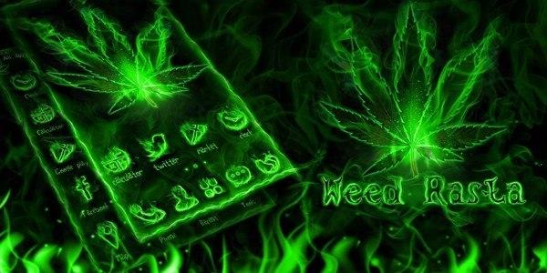 Weed Rasta GO Launcher Theme