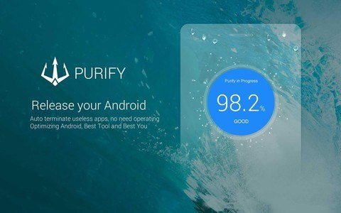 Purify —Save Power Boost Speed