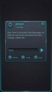 (FREE) GO SMS PRO GLOW THEME