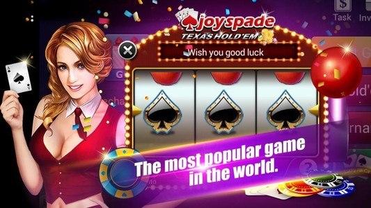 Joyspade Texas Poker