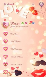(FREE) GO SMS LOVER THEME