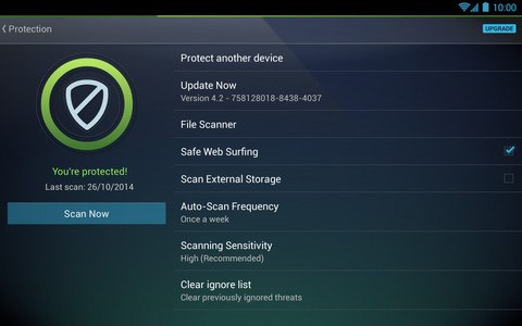 Tablet AntiVirus Security FREE
