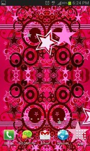 Pink Star Bright in 3D