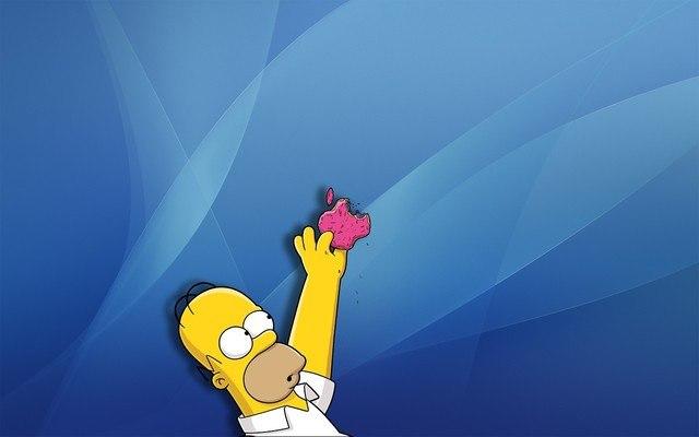 Apple Homer Simpson