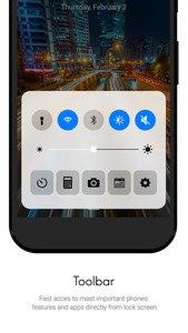 Lock Screen IOS10 style