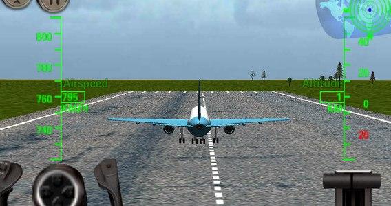 3D Airplane Flight Simulator