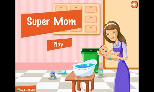 Supermom - Baby Care Game