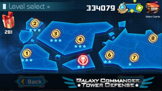 Galaxy Commander Tower defense